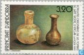 Postage Stamps - Andorra - French - Cultural heritage