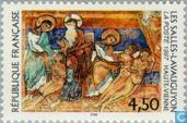 Postzegels - Frankrijk [FRA] - Les Salles-Lavauguyon
