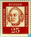 Postage Stamps - Berlin - Famous Germans