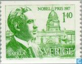 Postzegels - Zweden [SWE] - Nobelprijswinnaar 1917