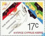 Briefmarken - Zypern [CYP] - IPU-Konferenz