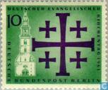 Postzegels - Berlijn - Evangelische Kerkendag