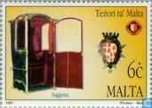 Briefmarken - Malta - Schätze