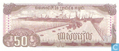 Billets de banque - Peoples National Bank of Cambodia - Cambodge 50 Riels