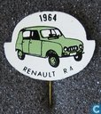 Pins and buttons - Stick pin - 1964 Renault R 4 [groen]