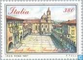 Postzegels - Italië [ITA] - Pleinen
