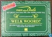 Van Dale - Aanvuleditie II - Welk woord?