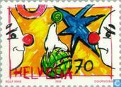 Postage Stamps - Switzerland [CHE] - Circus
