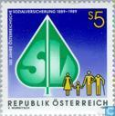 Postage Stamps - Austria [AUT] - Social insurance 100 years