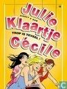 Bandes dessinées - Julie, Claire, Cécile - Trop is teveel!