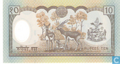 Billets de banque - Central Bank of Nepal - Népal 10 roupies
