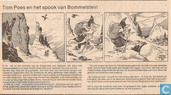 Bandes dessinées - Tom Pouce - Tom Poes en het spook van Bommelstein