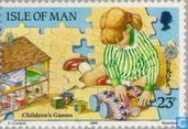 Briefmarken - Man - Europa – Kinderspiele