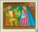 Timbres-poste - Berlin - Noel