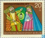 Postage Stamps - Berlin - Christmas