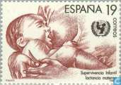 Postage Stamps - Spain [ESP] - UNICEF