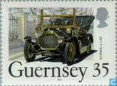 Postage Stamps - Guernsey - classic cars