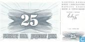 Bosnien-Herzegowina 25 Dinara