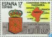 Postage Stamps - Spain [ESP] - Autonomy Navarre