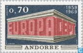 Postage Stamps - Andorra - French - Europe – Temple