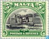 Postzegels - Malta - Inschrift POSTAGE&REVENUE
