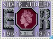 Timbres-poste - Grande-Bretagne [GBR] - 25 ans de Regency Queen Elizabeth II