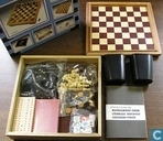 Board games - Chest - 7 in 1 Game Set