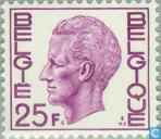 Timbres-poste - Belgique [BEL] - Roi Baudouin (Elström)