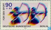 Timbres-poste - Berlin - Pour les sports