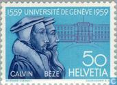 Postage Stamps - Switzerland [CHE] - University of Geneva 400 years