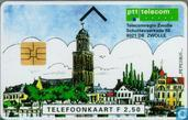 Telecomregio Zwolle (groene achterkant)
