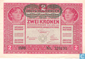 Banknotes - Austria - 1919 Issue - Deutschösterreich 2 Kronen ND (1919)