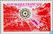 Postage Stamps - France [FRA] - Commissioning breeder reactor Phénix