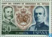 Postage Stamps - Spain [ESP] - Lawyers Centennial House