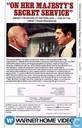 DVD / Vidéo / Blu-ray - VHS - On Her Majesty's Secret Service