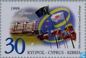 Postage Stamps - Cyprus [CYP] - 50 years of Council of Europe