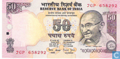 Bankbiljetten - Reserve Bank of India - India 50 Rupees 2006