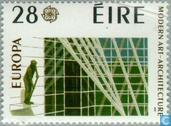 Postage Stamps - Ireland - Europe – Modern Architecture