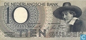 Banknotes - Paintings Nederland - 10 guilder Netherlands 1943