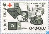 Postzegels - Finland - Rode Kruis 100 jaar