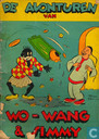 Comic Books - Wo-Wang & Simmy - De avonturen van Wo-Wang & Simmy