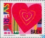 Postzegels - Zweden [SWE] - Valentijnsdag