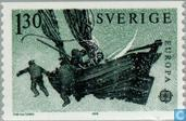 Postzegels - Zweden [SWE] - Europa – Postgeschiedenis