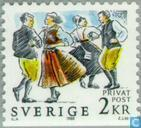 Midsummer viering in Zweden