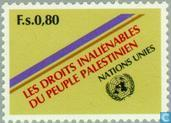 Postage Stamps - United Nations - Geneva - Palestinian people's rights