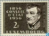 Timbres-poste - Luxembourg - Conseil d'État 100 années