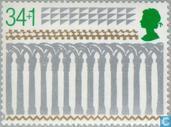 Timbres-poste - Grande-Bretagne [GBR] - Cathédrales