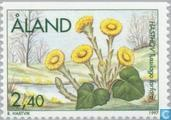 Timbres-poste - Åland [ALA] - Fleurs de printemps