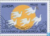 Postage Stamps - Greece - Europe – Peace and freedom