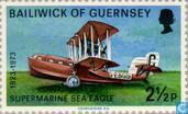 Postage Stamps - Guernsey - Air Mail Service